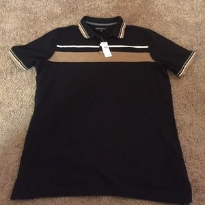 Black and Gold polo shirt